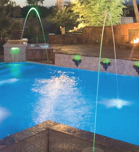 jandy mini deck jets jandy laminar deck jet with led colo pool supplies canada