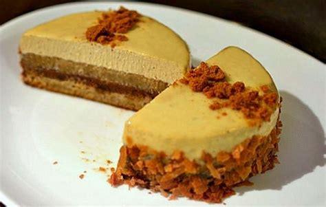 dessert pomme mascarpone speculoos entremet dulcey pommes caram 233 lis 233 es et speculoos