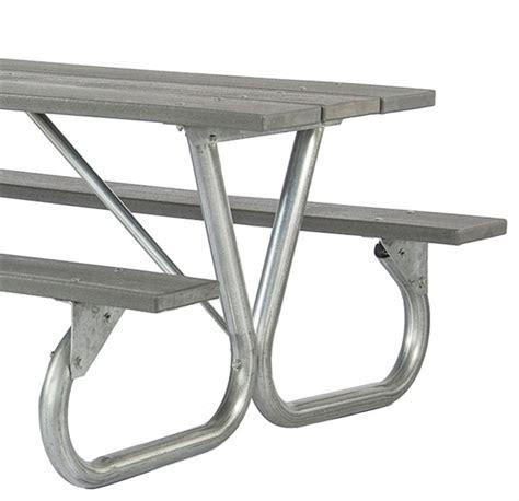 picnic table frame kit frame kit for 6 ft or 8 ft picnic table bolted 2 3 8