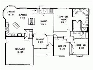 3 bedroom house floor plans in kenya beautiful popular 3 With house of three bedrooms plan