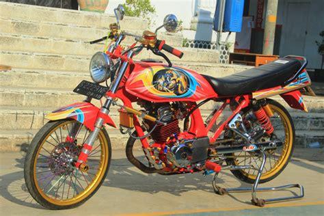 Modif Racing by Honda Gl Max 125 96 Pasuruan Herex Style Siap Ngacir