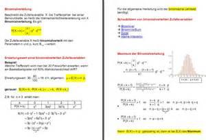 bernoulli ketten und binomialverteilung
