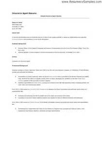 resume for insurance company 2016 insurance broker resume objective sles recentresumes