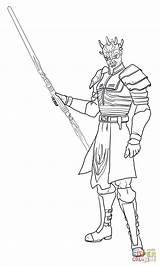 Coloring Wars Savage Opress Ahsoka Ausmalbilder Zum Clone Sith Ausmalbild Kostenlos Darth Maul Force Klonkrieger Printable Disney Gratis Ausmalen Supercoloring sketch template