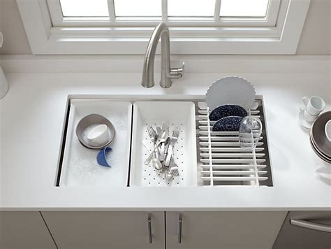 K 5540   Prolific Under Mount Stainless Steel Sink with