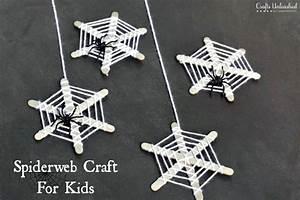 Basteltipps Für Halloween : halloween crafts for kids craft stick spiderwebs ~ Lizthompson.info Haus und Dekorationen