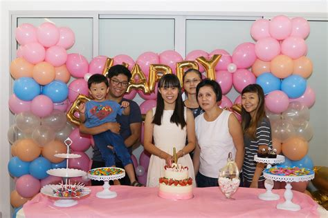 singapore st birthday party  red balloon singapore