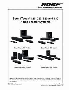 Bose Soundtouch 120 220 520 130 Rev 00 Service Manual