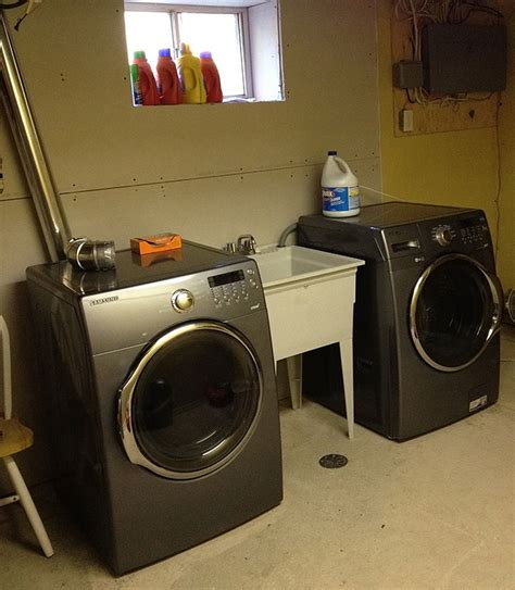 basement laundry room ideas do you your laundry room Unfinished