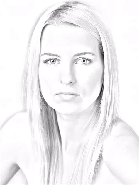 turn  photo   pencil sketch drawing  photoshop