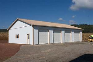 agricultural pole buildings in hegins pa timberline With 4 bay pole barn