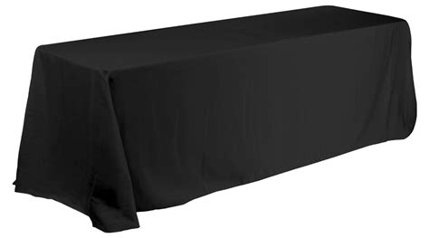 tablecloth for 8 foot rectangular table linen tablecloth for 8 ft rectangular table black