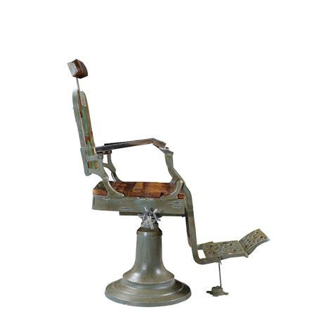 vintage barber shop chair