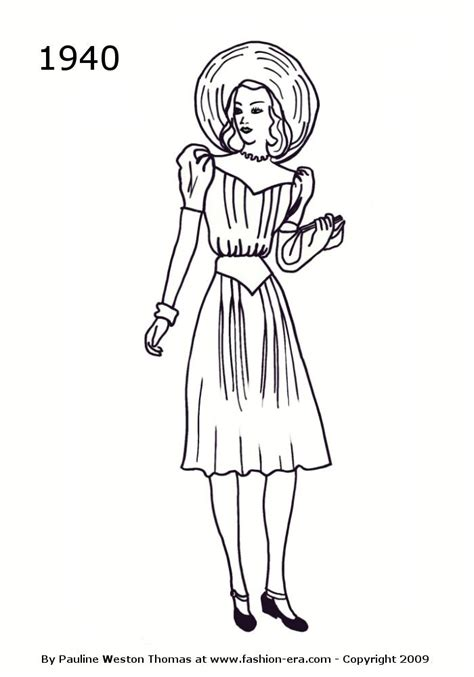 costume history dress silhouettes    drawings