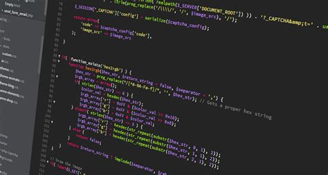 web developer coding on screen wallpaper and background