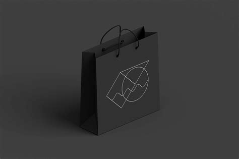 Including multiple different psd mockup templates like cardboard box, cosmetics, coffee cup/mug, shopping bag, car and van mockups. Free Dark Shopping Bag Mockup (PSD)