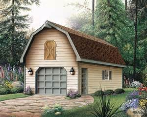 One Car Garage with Apartment Plans
