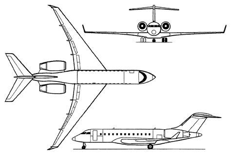bombardier bd 700 global express range business jet