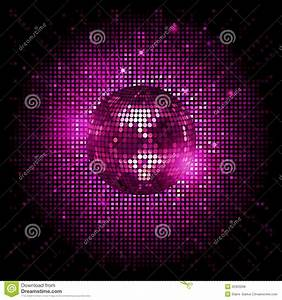 Disco Ball Pink Party Background Ai Stock Vector ...