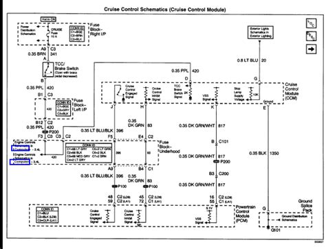 Rear Window Wiring Diagram 2003 Grand Prix by I A 2001 Pontiac Grand Am And Cruise Is Not