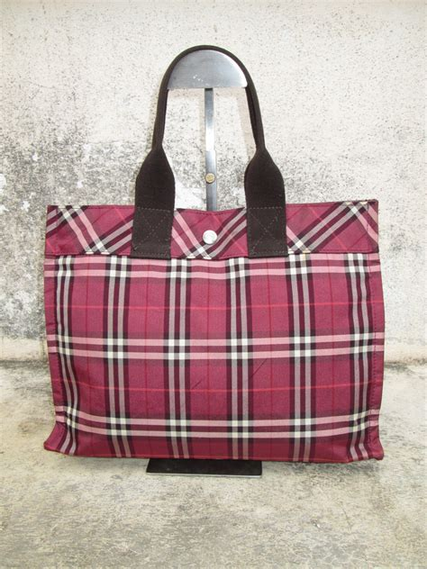 drayakeebag authentic burberry blue label tote bagsold