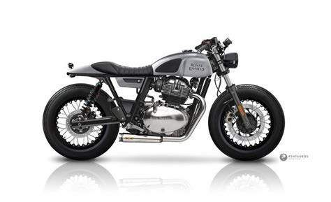 Modification Royal Enfield Continental Gt 650 by New Royal Enfield Continental Gt 650 By Kentauros Cafe