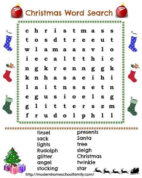 fun with christmas word search christmas christmas
