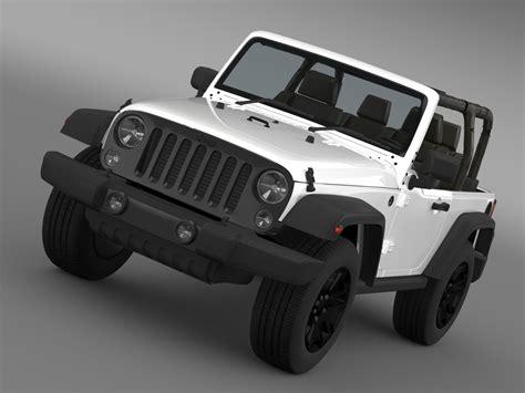 jeep wrangler willys   model