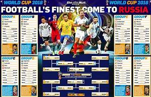 World Cup 2018 Wallchart  Download Your Guide To Russia