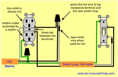 Wiring A Switched Outlet by I A Two 3 Prong Outlet Connected To A Wall Switch A
