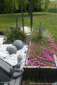 les 25 meilleures idees concernant creation de jardin With charming idee de massif de jardin 8 les 25 meilleures idees concernant jardins zen sur