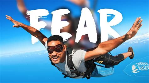 skydiving taught  smith  fear