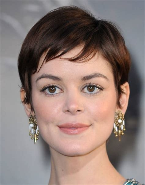 Short Haircuts with Bangs   Side Swept, Choppy & Straight