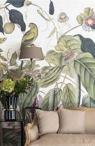 Papier Peint Ananbo : les plus beaux papiers peints fleurs blog mode en france ~ Melissatoandfro.com Idées de Décoration