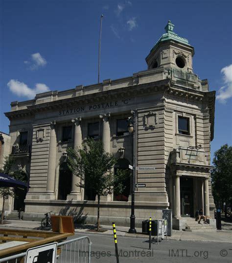 poste bureau bureau de poste c montreal