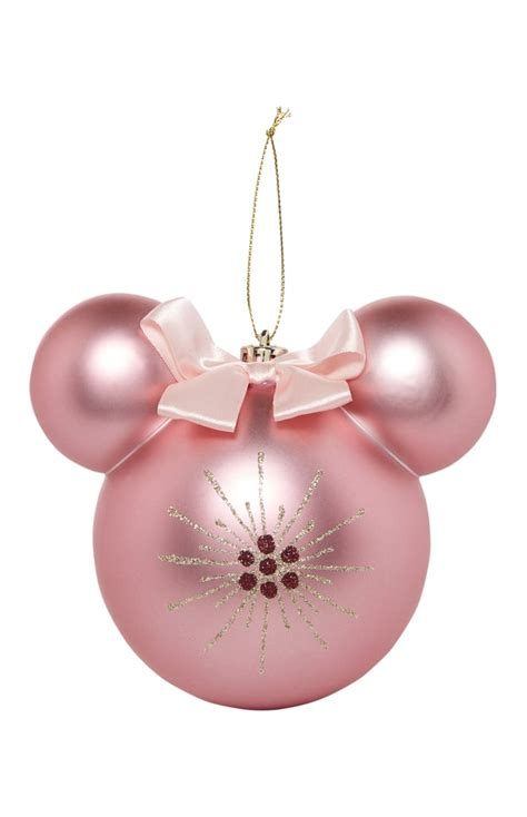 pink baubles next pink minnie ornament 7 primark disney products 2017 popsugar smart living photo 27