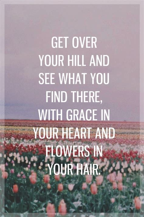 mumford and sons quotes flowers in your hair grace in your heart and flowers in your hair mumford and