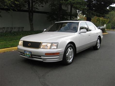 lexus ls400 1997 1997 lexus ls 400 coach edition luxury sedan