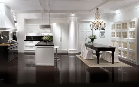 Contemporary Kitchen Interiors by Modern Classic Home Kitchen Interior 608 Interior