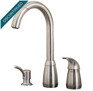 kitchen faucet pfister stainless steel contempra 1 handle kitchen faucet 526 50ss pfister faucets