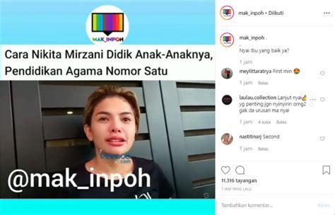 Lulusan Pesantren Nikita Mirzani Jadikan Agama Nomor Satu