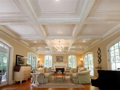 ceiling in room coffered ceilings