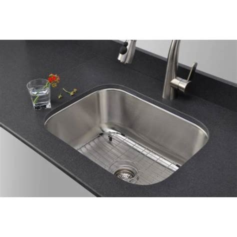 kitchen sink packages sinkware 18 single bowl undermount stainless 2810