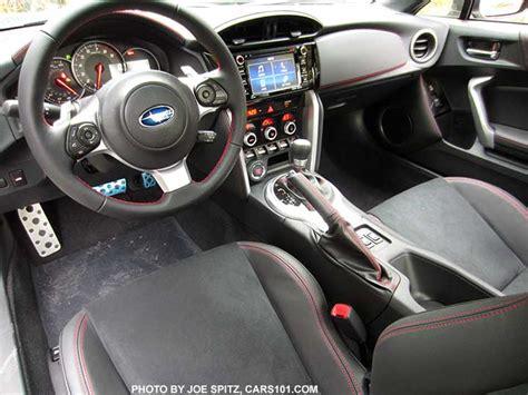 2017 Subaru Brz Limited Interior Black Alcantara Seating