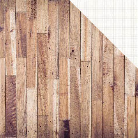 Simple Stories Hickory/Cream Grid 12x12 Designer Cardstock ...