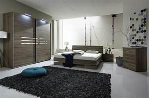 Lit anna chambre a coucher imitation chenel 149 x h 81 x p 200 for Chambre à coucher adulte moderne avec ensemble sommier matelas latex 140x190