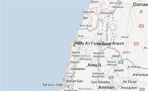Haifa Air Force Base Airport Weather Station Record