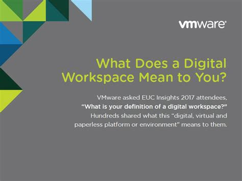 What Does by What Does A Digital Workspace To You Vmware End