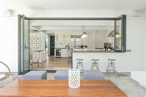 bifold window  door  kitchen outdoor kitchen design