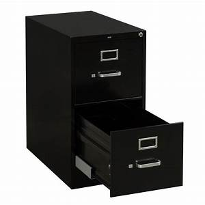 hon used letter sized 2 drawer vertical file black With hon letter size file cabinet